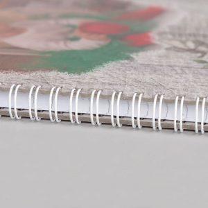 тетрадка с твърди корици