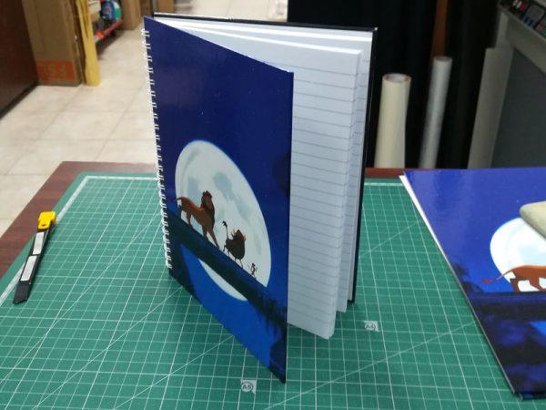 тетрадка със собствен дизайн - Print 'em all